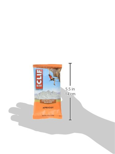 722252100702 - Cliff Bar Clif Bar, Og, Apricot, 2.40-Ounce (Pack of 12) ( Value Bulk Multi-pack) carousel main 8