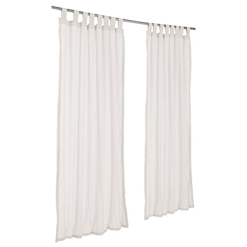 Sunbrella Outdoor Spectrum Curtain with Tab Top by Pawleys Island Hammocks