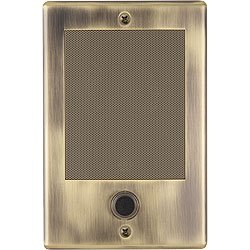 NuTone Intercom Upgrade NDB300AB Door Bell Station Antique Brass