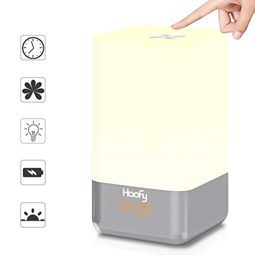 Wake up Light Alarm Clock,Haofy Sunrise Alarm C...