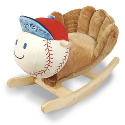 Homer Baseball (Homer Baseball Plush Rocker)