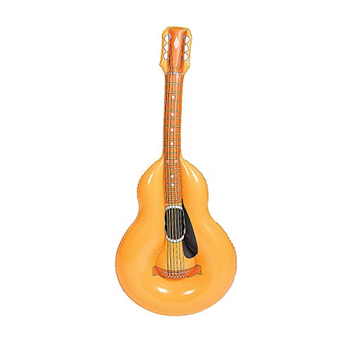 Fun Express Inflatable Acoustic Guitar (Inflatable Acoustic Guitar)
