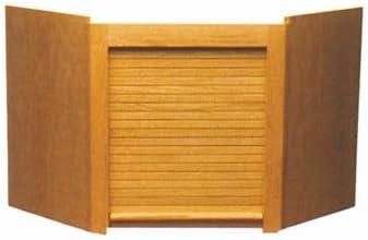 Corner Appliance Garage Oak by National