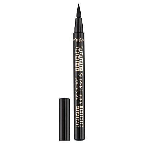 L'Oreal Paris Superliner Superstar, Black (PACK OF 6) by L'Oreal Paris