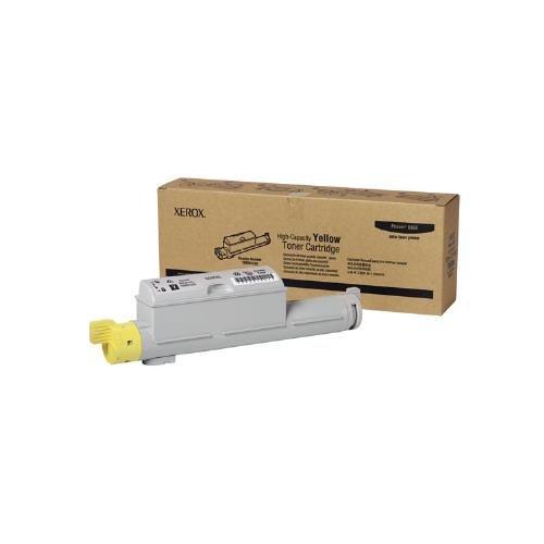 Xerox 106R01220 OEM Toner - Phaser(R) 6360 Yellow Toner High Capacity (12000 Yield) OEM