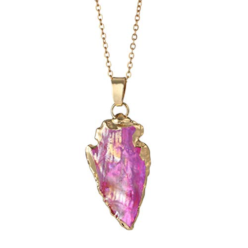 Topgee Wedding Season Jewelry Women Simple Heart Pendant Necklace Clavicle Chain Jewelry ()