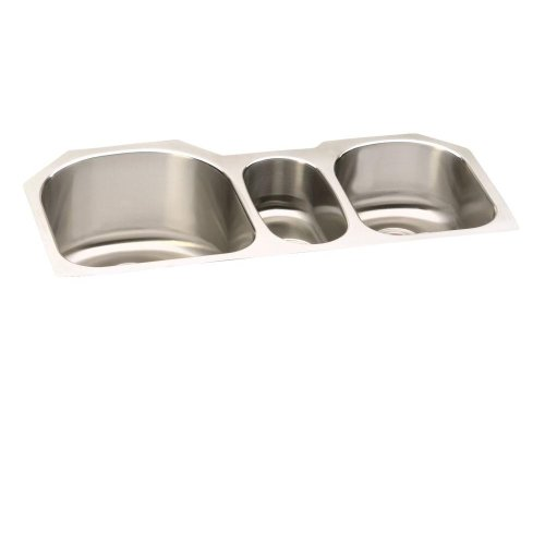 ELUH3920 Lustertone Undermount Stainless Steel 39-1/2x20x10 Triple Bowl Kitchen SinkElkay Sink -YOW by Elkay
