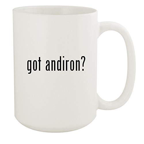 got andiron? - 15oz White Ceramic Coffee Mug
