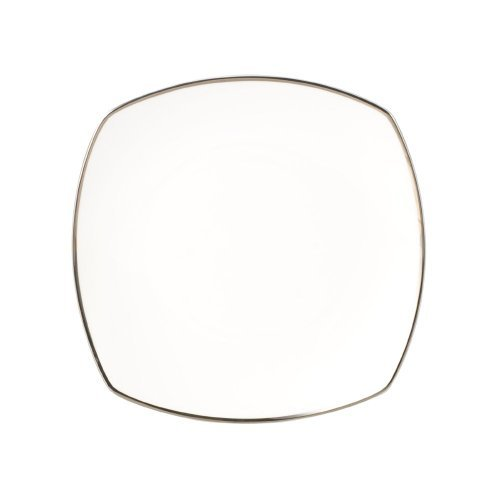 - Mikasa Cameo Platinum Square Salad Plate - White