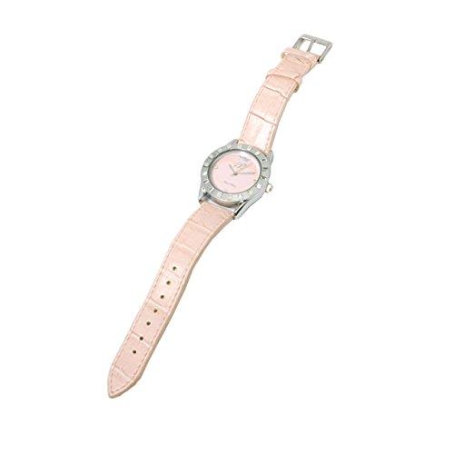 Paris Hilton Leather Strap Ladies Fashion Watch and Handbag Holder HWX0003
