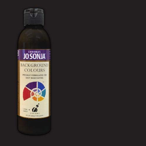 (Jo Sonja's Background Colour 6 oz Bottle - Charcoal )