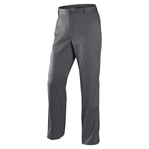 Nike Men's Dri-FIT Flat Front Tech Golf Pants, Dark Grey, 38x32 (Flat Front Tech)