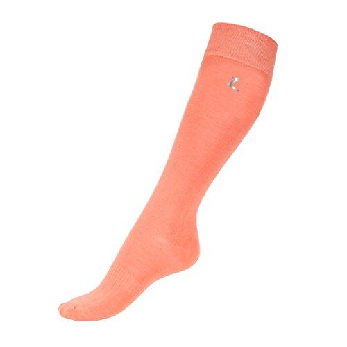 Bamboo Pink Feed (Horze Bamboo Socks Flamingo Pink 8.5-9.5)