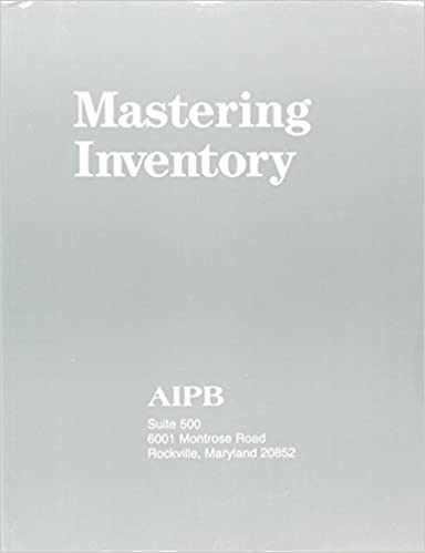 buy mastering inventory (professional bookkeeping certification ...