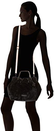 Bulaggi Oroco Handbag - cartera Mujer Negro (Schwarz)