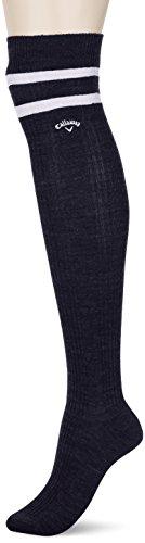 (キャロウェイ アパレル) Callaway Apparel ラメ入り ニーハイソックス (サーモキャッチ採用 : 光吸収発熱性 静電性) ゴルフ 靴下/241-7285808 [ レディース ]