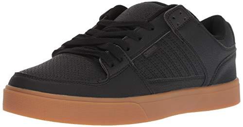 - Osiris Men's Protocol Skate Shoe, Black/Gum, 9 M US