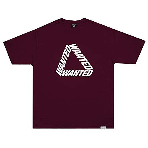 Camiseta Wanted - Escher 2 Vermelho Cor:Vermelho;Tamanho:M