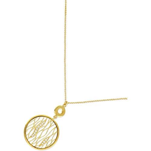SF Bijoux - Collier plaqué or OZ (42 cm) - (301841-42)