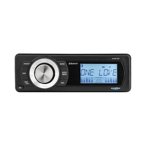 Image of Aquatic AV AQ-MP-5BT-H Factory Harley Davidson Replacement AM/FM Radio with Bluetooth & MP3 Media Player Stereo Car Stereo Receivers
