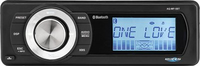 Aquatic AV AQ-MP-5BT-H Factory Harley Davidson Replacement AM/FM Radio with Bluetooth & MP3 Media Player Stereo ()