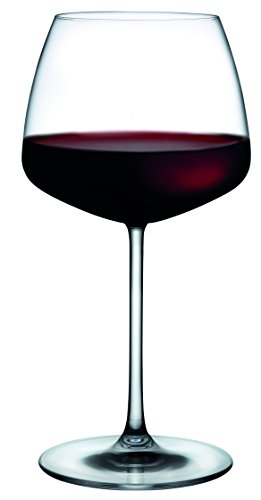 Hospitality Glass Brands 66093-012 Mirage 19.5 oz. Red Wine (Pack of - Sheer Red Wine Rim Glass