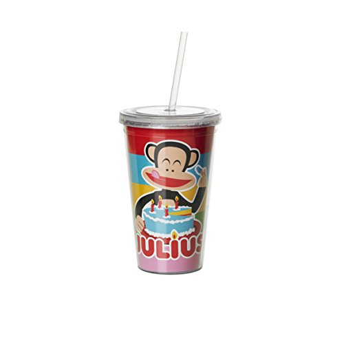Paul Frank Cup with Straw, ()