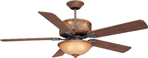 rustic lodge ceiling fans - 8