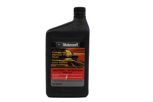 Ford Genuine Fluid XT-M5-QS Full Synthetic Manual Transmission Fluid - 1 Quart (Manual Transmission Gear)
