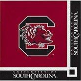 240 NCAA South Carolina Gamecocks 2-Ply Tailgating Party Beverage Napkins