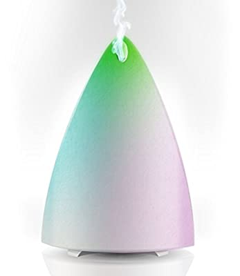 Essential Oil Diffuser for Aromatherapy - Best Ultrasonic Cool Mist Humidifier with Multi-Color LED - Energy Saving Quiet Electric Technology