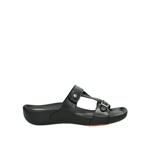 Black Comfort Leather Oconnor 30000 Wolky qHd08Wd