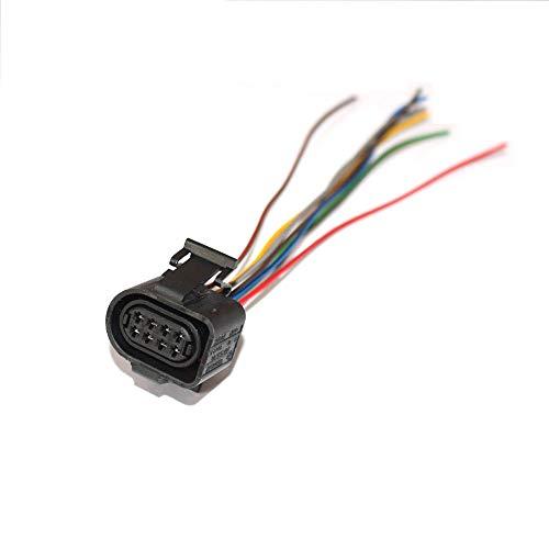 FidgetFidget Connector Plug VR6 Throttle Body Pigtail Fit 714 by FidgetFidget