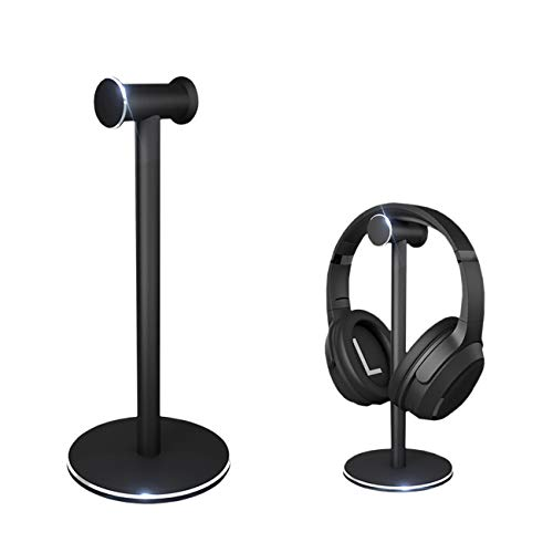 Oriolus Aluminum Alloy Headphone Stand Holder for Beats Sony Audio-Technica Gaming Headphones (Black)