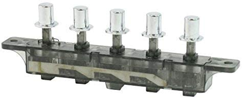 DealMux MQ205 AC 250V 4 Amp 5 Pulsador Interruptor de Teclado Tipo Teclado para Campana extractora: Amazon.es: Electrónica