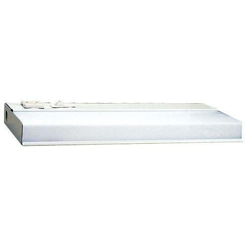 Thick Glass 1/2 42 Top - Elco Lighting EUN42EL Fluorescent Undercabinet Lights
