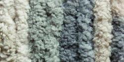 Bulk Buy: Bernat Blanket Big Ball Yarn  Silver Steel 161110-