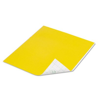 10'' x 8.5'' Tape Sheet (Set of 6) Color: Yellow