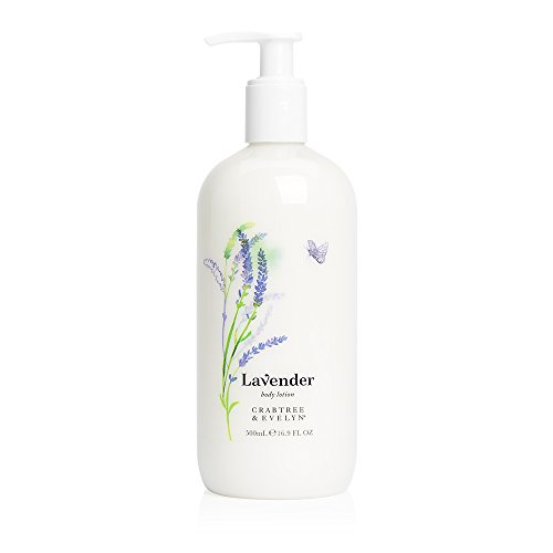Crabtree & Evelyn Body Lotion Lavender, 16.9 Fl Oz (Crabtree Source Evelyn)