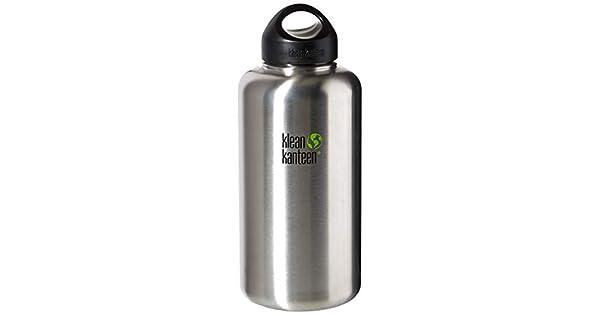 Amazon.com: Klean Kanteen, botella ancha de acero inoxidable ...