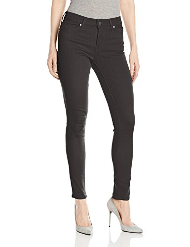 Levi's Women's Slimming Skinny Jeans, Blackened Ash-Black, 26 (US 2) R