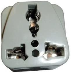 DekCell 1 X Eurus International USA to UK British Grounded Travel Plug Adapter