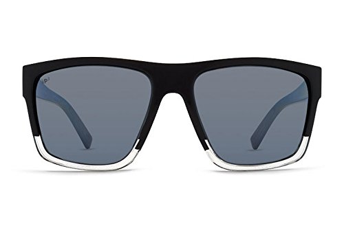 VonZipper Unisex Dipstick Polarized Joel Sig Black/Silver Polar Sunglasses