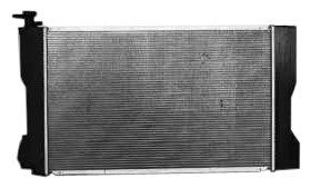 ow Plastic Aluminum Replacement Radiator (1 Row Replacement)