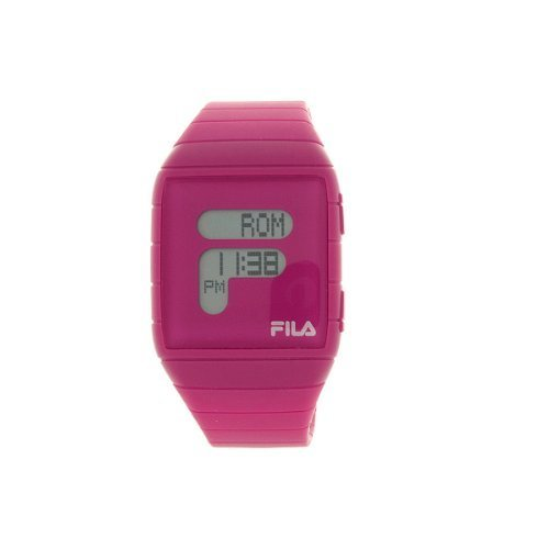 fila-unisex-lcd-watch-fl38015005-with-pink-pu-strap