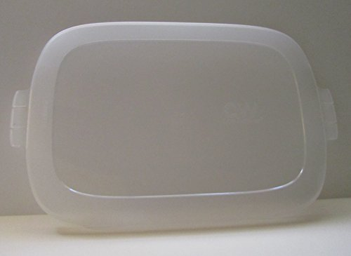 CW by CorningWare Stoneware Baker 3 Quart Oblong Clear Plastic Cover Only 3 Quart Stoneware Baker
