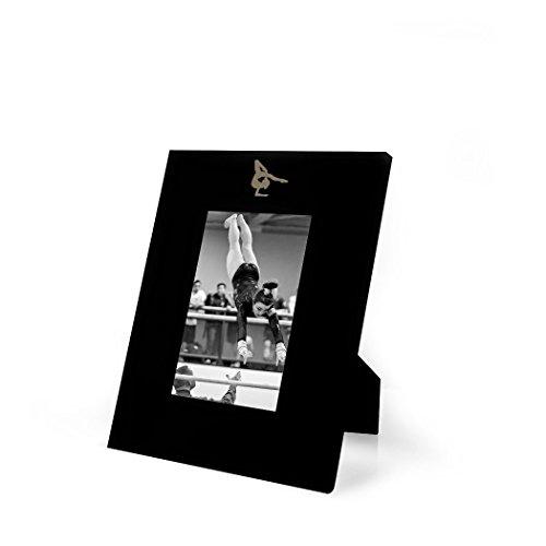(Gymnast Frame | Engraved Gymnastics Picture Frame by ChalkTalk Sports | Vertical 5X7 )