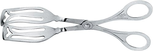 Alessi 506 Pastry Tongs, Silver by Alessi