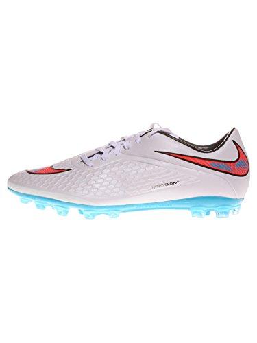 Nike Hypervenom AG-R Herren Fußballschuhe Weiß (WHITE/TOTAL CRIMSON-BL LGN-BLK 148)