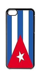 HeartCase Hard Case for Apple iPhone 5C(Cuba's national flag )